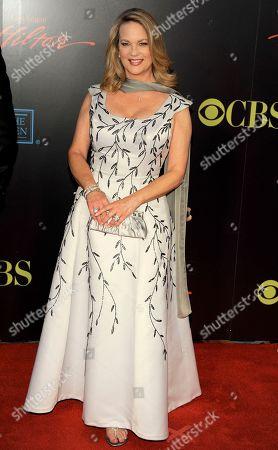 Leann Hunley Leann Hunley arrives at the 37th Annual Daytime Emmy Awards, in Las Vegas