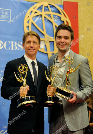 Editorial photo of Daytime Emmy Awards Press Room, Las Vegas, USA