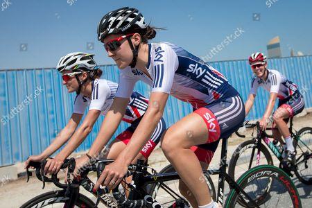 Editorial photo of 2016 UCI Road Cycling World Championships. Doha, Qatar - 13 Oct 2016