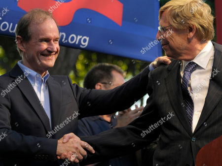 David Boies, Theodore Olson Lawyers David Boies, left, and Theodore Olson, shake hands at a public rally on in West Hollywood, Calif. Gay rights supporters turned out in droves to celebrate a federal judge's overturning of California's Proposition 8, a same-sex marriage ban, a landmark case which could eventually land before the U.S. Supreme Court to decide if gays have a constitutional right to marry in America