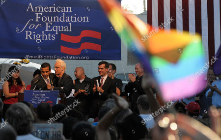 Editorial picture of Gay Marriage Trial, West Hollywood, USA