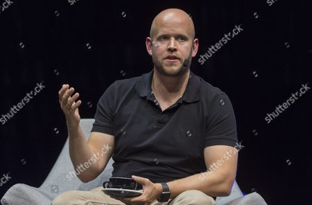 Daniel Ek, CEO and founder, Spotify
