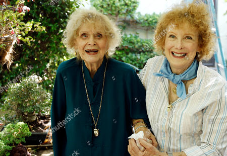 Gloria Stuart, Sylvia Thompson Actress Gloria Stuart, left, and her daughter, Sylvia Thompson, pose for a portrait in Los Angeles, . Stuart celebrated her 100th birthday on July 4, 2010