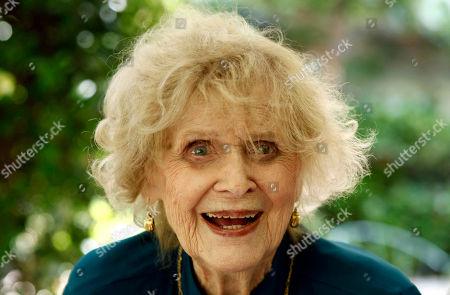 Gloria Stuart Actress Gloria Stuart poses for a portrait in Los Angeles . Stuart celebrated her 100th birthday on July 4, 2010