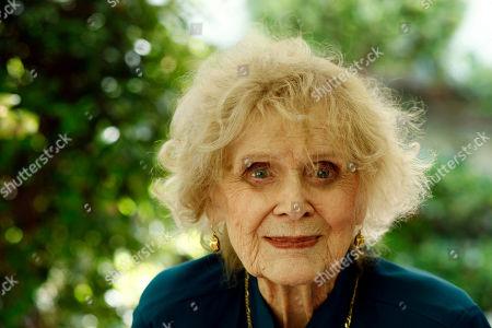Gloria Stuart Actress Gloria Stuart poses for a portrait in Los Angeles, . Stuart celebrated her 100th birthday on July 4, 2010