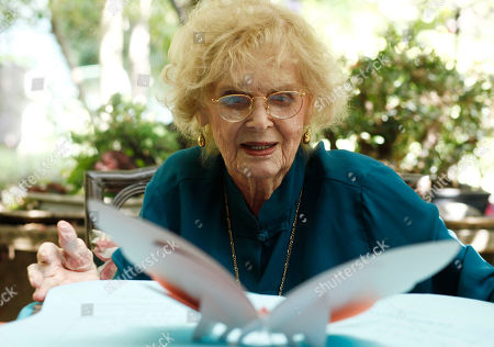 Editorial photo of People Gloria Stuart, Los Angeles, USA