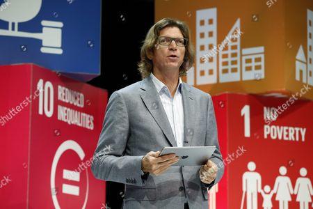 Stock Photo of Niklas Zennstrom, founder of Skype