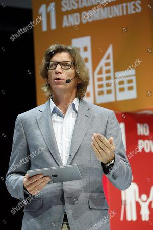 Stock Image of Niklas Zennstrom, founder of Skype