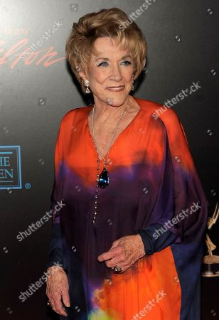 """Jeanne Cooper The Young and the Restless"""" star Jeanne Cooper, who has been with the show since months after its debut in 1973, arrives at the 37th Annual Daytime Emmy Awards in Las Vegas. Cooper, who turns 84 next month, shows no signs of slowing down"""