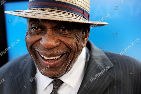 """Bill Cobbs Actor Bill Cobbs, a cast member in """"Get Low,"""" arrives at the premiere of the film in Beverly Hills, Calif"""