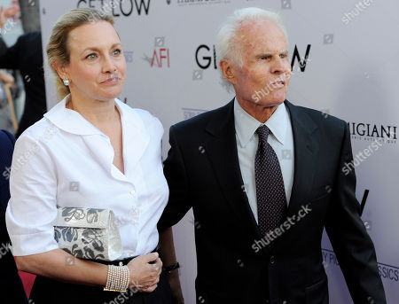 "Stock Image of Richard Zanuck, Lili Fini Zanuck Richard Zanuck and his wife Lili Fini Zanuck arrive at the premiere of the film ""Get Low"" in Beverly Hills, Calif"
