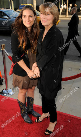 """Sissy Spacek, Madison Fisk Sissy Spacek, a cast member in """"Get Low,"""" arrives with her daughter Madison Fisk at the premiere of the film in Beverly Hills, Calif"""
