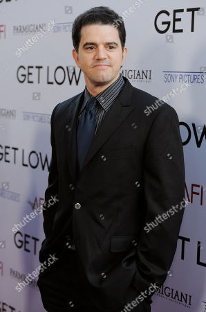 "Stock Picture of Aaron Schneider Aaron Schneider, director of the film ""Get Low,"" arrives at the premiere of the film in Beverly Hills, Calif"
