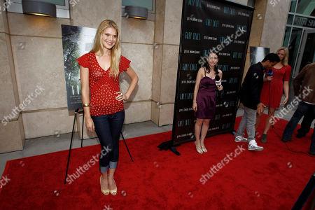 "Kate Lang Johnson Actress Kate Lang Johnson arrives at the premiere of ""Grey Skies"" in Los Angeles"