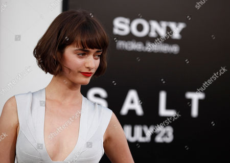 "Stock Photo of Olya Zueva Olya Zueva arrives at the premiere of ""Salt"", in Los Angeles"