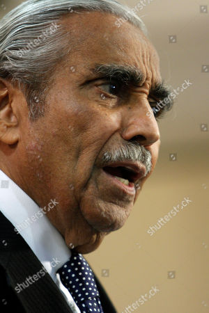 Charles B. Rangel Democratic Rep. Charles B. Rangel speaks to reporters during a news conference, in New York. Rangel, once among the most powerful members of Congress, will face a hearing on charges of violating House ethics rules after a panel of his peers formally accused him of wrongdoing Thursday
