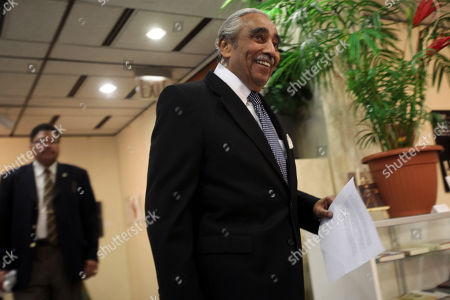 Charles B. Rangel Democratic Rep. Charles B. Rangel arrives for a news conference in New York. Rangel, once among the most powerful members of Congress, will face a hearing on charges of violating House ethics rules after a panel of his peers formally accused him of wrongdoing Thursday