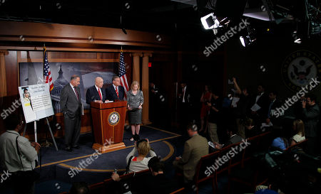 Charles Schumer, Kristen E. Gillibrand, Robert Menendez, Frank Lautenberg From left, Sen. Charles Schumer, D-N.Y., Sen. Frank Lautenberg, D-N.J., Sen. Robert Menendez, D-N..J., and Sen. Kirsten E. Gillibrand, D-N.Y., during their new conference on Capitol Hill in Washington
