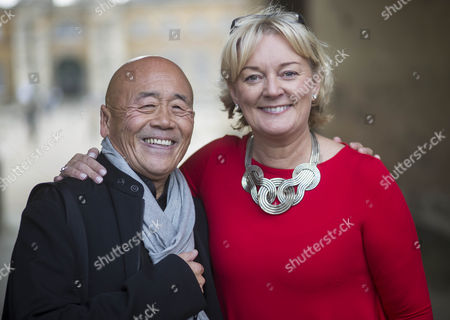 Jo Malone and Ken Hom