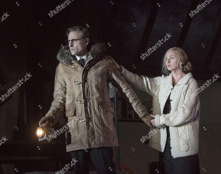 Mark Strong as Donald Dodd, Hope Davis as Ingrid Dodd,