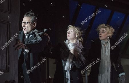 Mark Strong as Donald Dodd, Hope Davis as Ingrid Dodd, Elizabeth Debicki as Mona Sanders