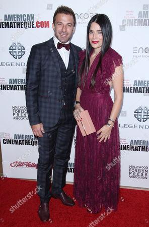Alessandro Del Piero and wife Sonia Amoruso