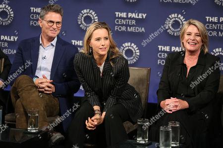 Tim Daly, Tea Leoni and Barbara Hall
