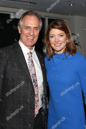 Keith Carradine and Norah O'Donnell