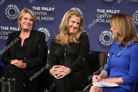 Barbara Hall, Lori Mccreary and Norah O'Donnell