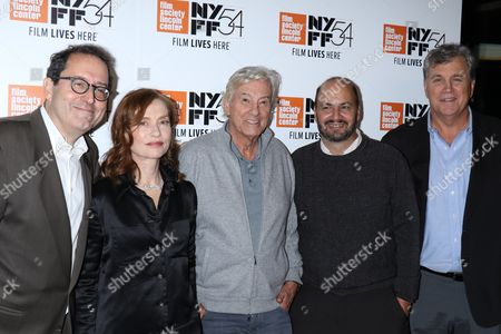 Editorial image of 'Things To Come', film premiere, New York Film Festival, USA - 14 Oct 2016