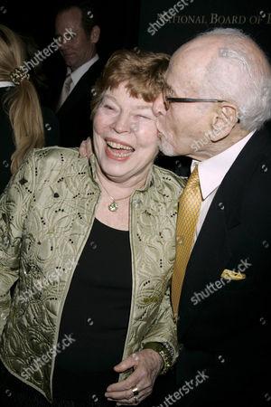 Eli Wallach and wife Anne Jackson