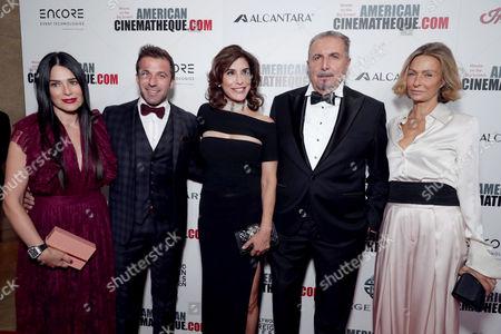 Sonia Amoruso, Alessandro Del Piero, Jo Champa, Andrea Boragno