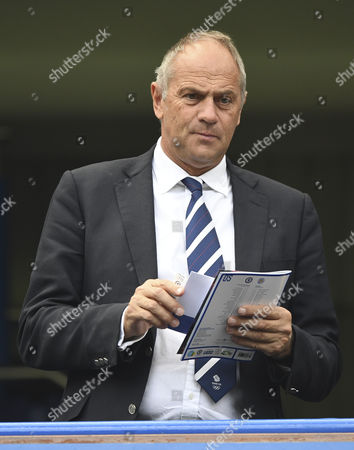 Sir Steve Redgrave during the Premier League match between Chelsea and Leicester City played at Stamford Bridge, London on 15th October 2016
