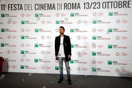 Justin Tipping Director Justin Tipping poses for photographers during a photo call presenting his movie 'Kicks' at the Rome Film festival in Rome