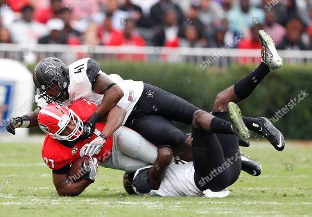 Editorial picture of Vanderbilt Georgia Football, Athens, USA - 15 Oct 2016