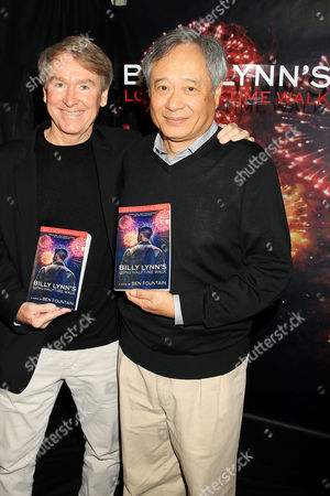 Stock Photo of Ben Fountain, Ang Lee