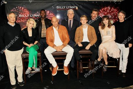 Ang Lee, Kristen Stewart, Chris Tucker, Vin Diesel, Steve Martin, Joe Alwyn, Garrett Hedlund, Makenzie Leigh, Ben Fountain