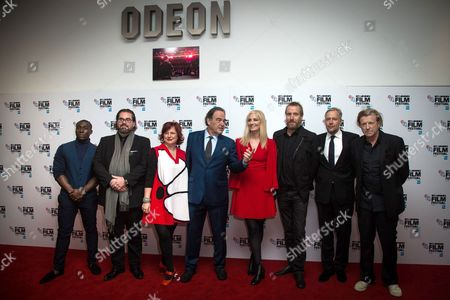 Stock Photo of Eric Kofi-Abrefa, Philip Schulz Deyle, Clare Stewart, Oliver Stone, Joely Richardson, Rhys Ifans, Eric Kopeloff, Anthony Dod Mantle