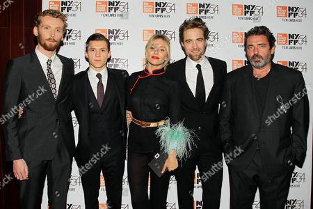 Edward Ashley, Tom Holland, Sienna Miller, Robert Pattinson and Angus Macfadyen