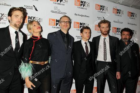 Robert Pattinson, Sienna Miller, James Gray, Tom Holland and Edward Ashley and Angus Macfadyen