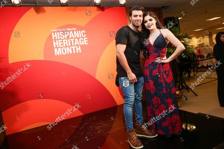 Editorial image of Hispanic Heritage Month celebration, Macy's, Los Angeles, USA - 15 Oct 2016