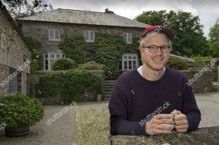 Editorial picture of Chef Tom Adams, Coombeshead Farm, Lewannick, Cornwall, UK - 13 Jul 2016