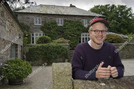 Editorial photo of Chef Tom Adams, Coombeshead Farm, Lewannick, Cornwall, UK - 13 Jul 2016