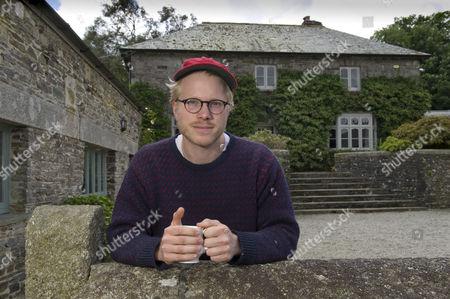 Editorial image of Chef Tom Adams, Coombeshead Farm, Lewannick, Cornwall, UK - 13 Jul 2016