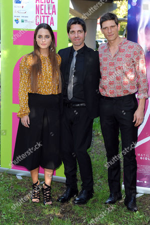 Ivan Silvestrini, Matilde Gioli and Matteo Martari