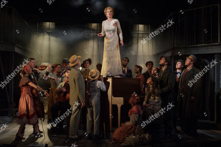 Editorial photo of 'Ragtime' musical, Charing Cross Theatre, London, UK - 14 Oct 2016