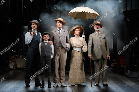 Editorial image of 'Ragtime' musical, Charing Cross Theatre, London, UK - 14 Oct 2016