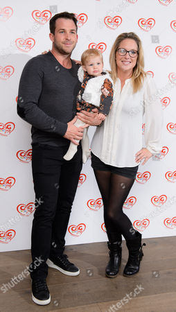 Stock Photo of Gemma Bissix attends the C&G baby club 'The Happy Song' launch event at London's Ham Yard Hotel in Soho. UK