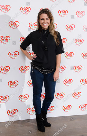 Adele Silva attends the C&G baby club 'The Happy Song' launch event at London's Ham Yard Hotel in Soho. UK