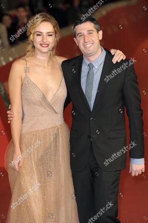 Grace Van Patten and Adam Leon